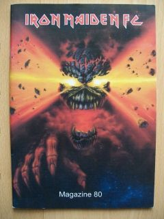 IRON MAIDEN Magazine Nr. 80 FAN CLUB Heft