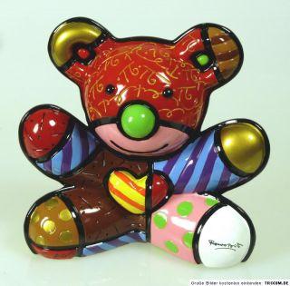 ROMERO BRITTO Love Bear   limitierte Edition   4000 Stck. weltweit N