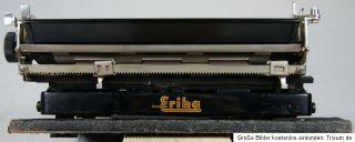 Schreibmaschine Erika Naumann Modell S Koffer