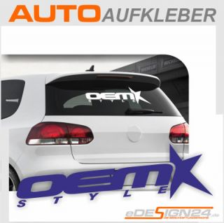E155 Shocker DUB Style Aufkleber Sticker Auto VW