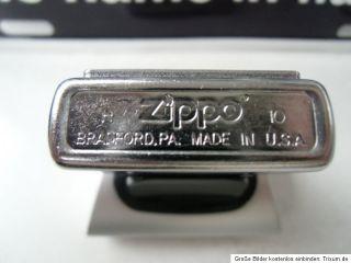 Original ZIPPO FEUERZEUG JIM BEAM BOTTLE with GLAS EMBLEM street
