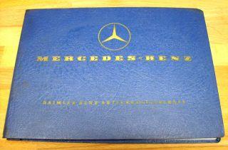 Teilekatalog Mercedes Benz Type LP 810 LP 1013 LP 1213 Stand 01 1966