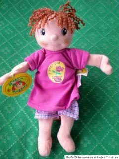 neue Zapf Puppe Maggie Raggies Gina 22 cm, OVP Stoffpuppe Jahr 2003