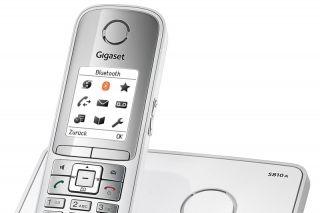 Siemens Gigaset S810A /Schnurlos Analog Telefon mit AB Bluetooth TFT