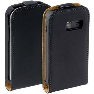 Echt Leder Tasche Handy Flip Style Case SAMSUNG S6102 Galaxy Y DUOS