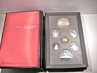 Royal Canadian Mint 1987 / Silber Münz Set