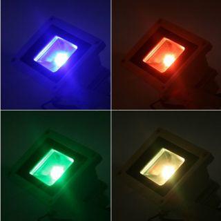 10W/30W/50W RGB LED Fluter Außen Strahler Flutlicht Wasserfest IP65