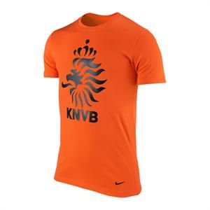 NIKE NIEDERLANDE CORE TEE T SHIRT ORANGE F815