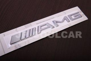 AMG Mercedes Benz Chrom Emblem Schriftzug Zeichen A B C E SLK CLK SL