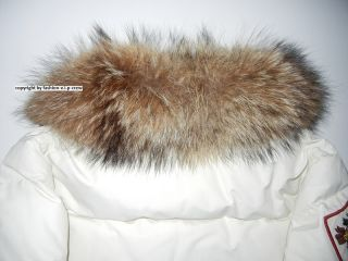 100% AUTH. DSQUARED² LORD FOXHUNTING RACCOON FUR REAL DOWN JACKE SZ