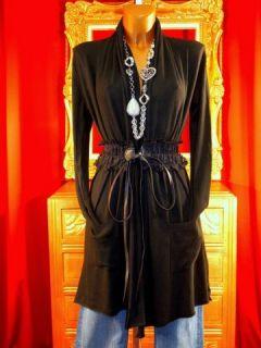 Damen Jacke Mantel Kaschmir Wolle Modell Vanessa Grau Größe 36 38 40