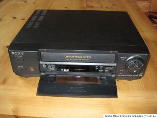 Sony Videorekorder, Videorecorder, SLV E200, VHS, funktionstüchtig