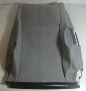 T5 LEFT FRONT GREY SEAT BACK REST COVER 7E0 881 805 C PYM