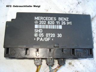 Mercedes Benz C Klasse 202 Komfort Steuergerät 202 820 1126