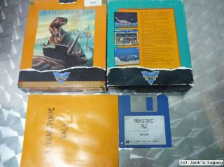 Prehistoric Tale THALION Commodore Amiga Game Spiel Jeux Gioco OVP