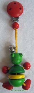 CLIP FIGUR Frosch Clipfigur Clip Heimess Babyspielzeug