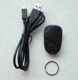 HD 720P Llave de coche 808 llavero cámara espía mini DVR no