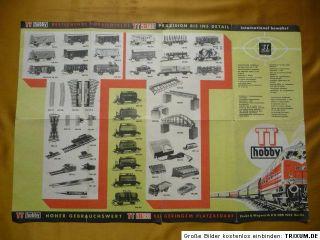 Katalog TT hobby, Zeuke & Wegwerth KG Berlin, DDR 1969