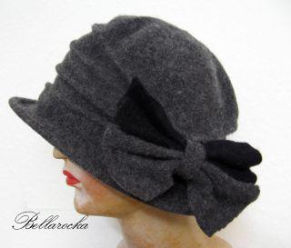 bellarocka Boogie bow HAT burlesque vintage HUT rockabilly pin up