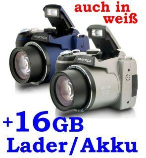 DIGICAM LM16 Z21S + 16GB + LADER + 4 AKKU + TASCHE + 16 MIO PIXEL