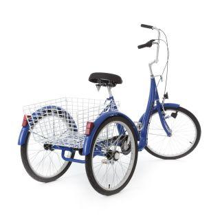 Aluminium Dreirad für Erwachsene der Marke Maxirad mit Rücktritt