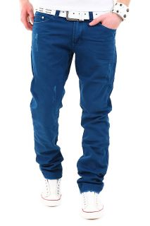 Jeans Slim Fit Colour Hose Chinohose Beige/Grau/Blau/Rot