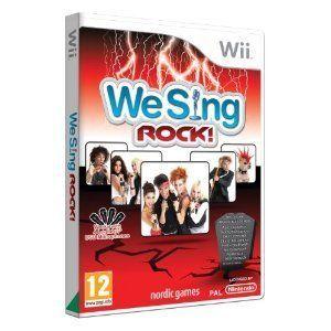 Nintendo Karaoke Wii Spiel We Sing Rock Neu