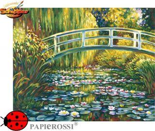 Malen nach Zahlen   Schipper   Seerosenteich (nach Claude Monet