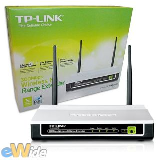 ACCESS POINT WIFI N Range Extender Wireless 300Mbps REPEATER TL