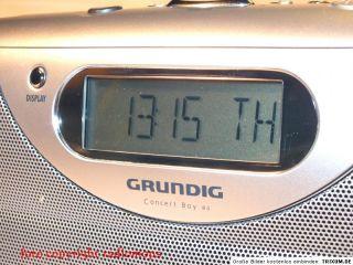 Grundig Concert Boy 80 4 Band RDS Weltempfänger, 40 Senderspeicher