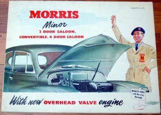 1953 MORRIS Minor 2/4 Door & Converible brochure