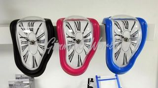 NEU Salvador Dali Weiche UHR Tischuhr Melting Clock