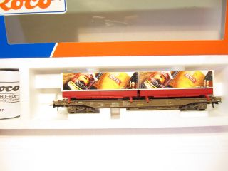 ROCO 47014 Güterwagen Hupack Taschenwagen CERES Bier DSB EP 5 KKK OVP