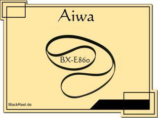 Aiwa PX E860 Riemen rubber belt Peesen Plattenspieler Turntable Record