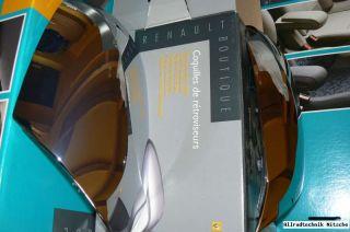 Renault Megane III Chrom Spiegel Spiegelkappe Neu und Original