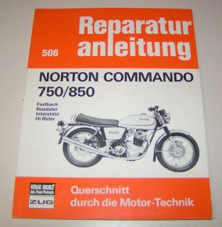 Reparaturanleitung Norton Commando 750 / 850   ab 1967
