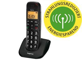 HAGENUK BIG 855 COMBO ANALOG TELEFON TISCHTELEFON SET FREISPRECH AB