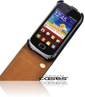 Samsung Galaxy Mini 2 /II Premium Handytasche Flip Case Schutzhülle