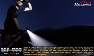 Magicshine MJ 856B NEUE Vers. 11/2011 CREE HighPower LED 1600 LUMEN