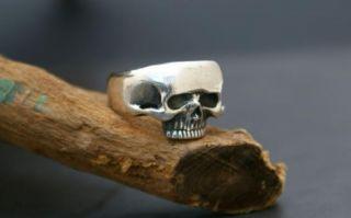 KEITH RICHARDS Silber 925 Ring Totenkopf Piraten Skull Rocker
