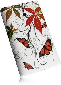 New Butterfly Design Style Case Handytasche für LG E400 Optimus L3
