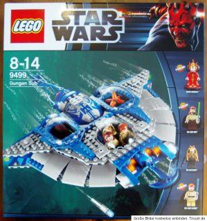 Lego Star Wars Gungan Sub (9499) U   Boot NEU und OVP