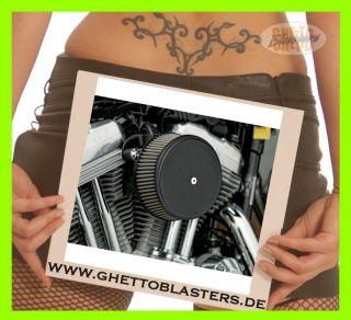 Arlen Ness Big Sucker Luftfilter Black Cover Kit für Harley Sportster