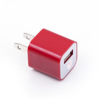 10 Color USB Power Adapter Wall Charger for iPhone4 4S iPod Touch Nano