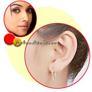 8er Fake Piercings Ohr Ringe Clip On Nasenpiercing Nase