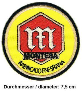 MONTESA Aufnäher Patches Motorrad Trial Impala Cota 4RT Spanien Spain