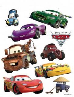 Wandtattoo Wandsticker Tattoo Wanddeko TÜV   Disney Cars Lightning