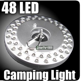 48 LED UFO Portable Camping Tent Lantern Light