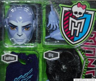 Monster High Create a monster Puma Boy   W9175   X3727 Brandneu 2012