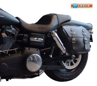 Packtasche links 12ltr. Harley Davidson Dyna (1996 ) Satteltasche